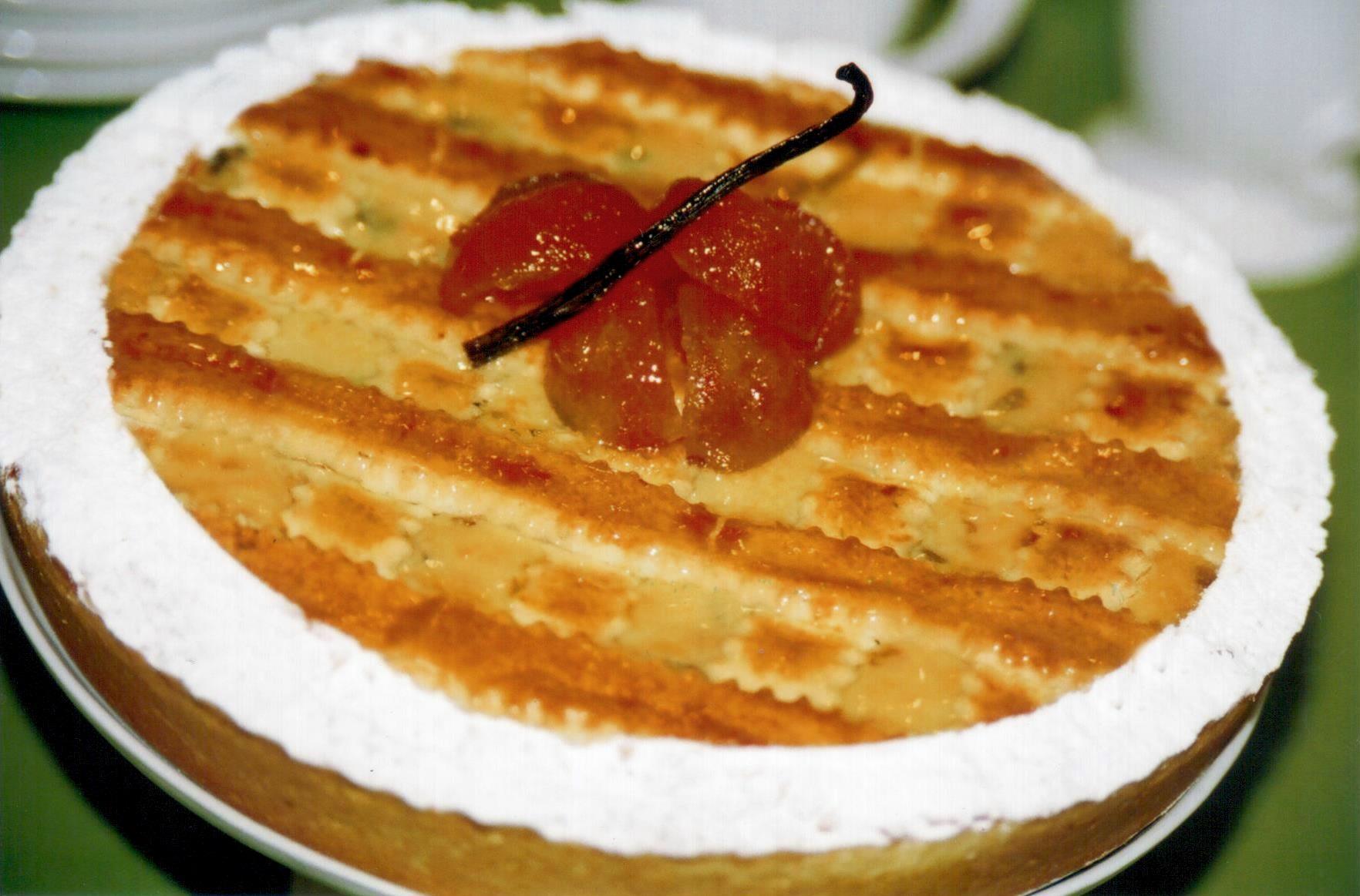 TORTA CROCANTE DE RICOTA